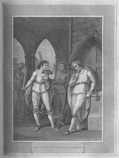 'Henry I., Seizing The Treasure of Winchester', 1838-Unknown-Giclee Print