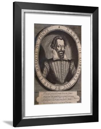 Henry II, Duke of Lorraine, late 16th or early 17th century (1894)-Thomas de Leu-Framed Giclee Print
