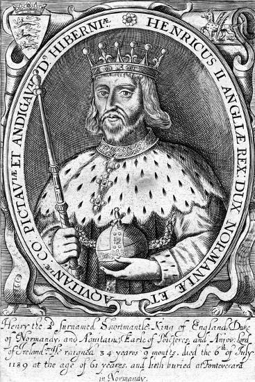 Henry II, King of England--Giclee Print