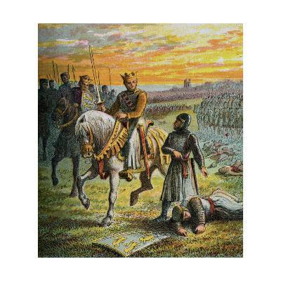 Henry III and the Barons--Giclee Print
