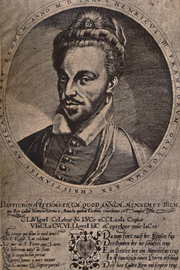 Henry III, King of France, c16th century (1894)-Unknown-Giclee Print