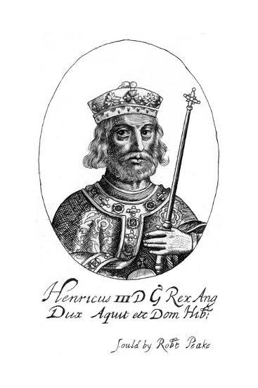 Henry III of England-Robert Peake-Giclee Print
