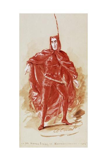 Henry Irving--Giclee Print