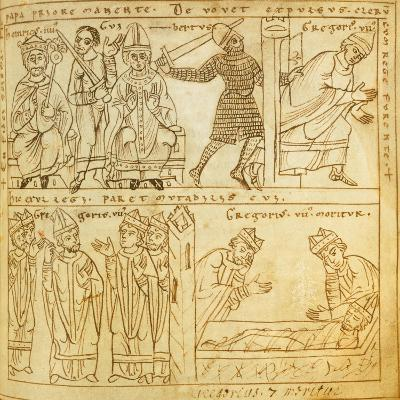 Henry Iv and the Anti-Pope Guibert--Giclee Print