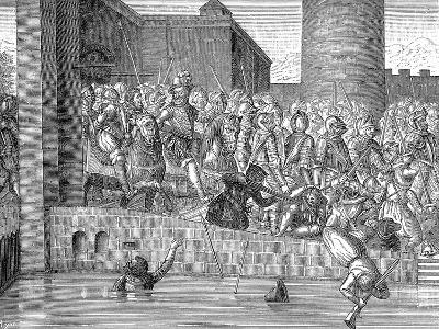 Henry IV of France Entering Paris, 22 March 1594--Giclee Print