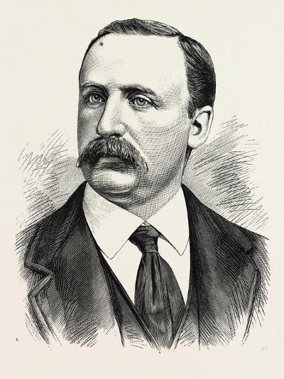 Henry J. Jackson, Superintendent of the Bureau of Emigration, Castle Garden. U.S., 1880 1881--Giclee Print