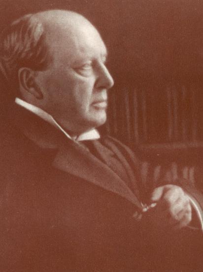 Henry James American Writer-Alvin Langdon-Photographic Print