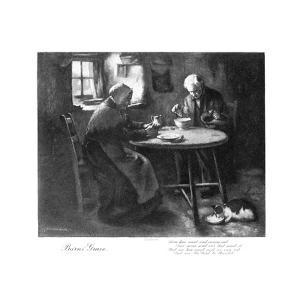 Burns' Grace, Late 19th Century by Henry John Dobson