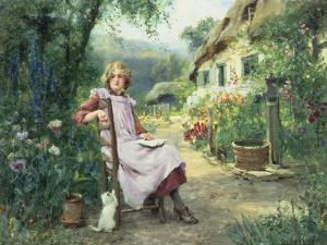 In the Garden by Henry John Yeend King