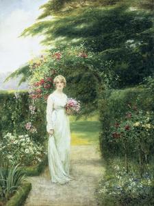 In the Rose Garden by Henry John Yeend King