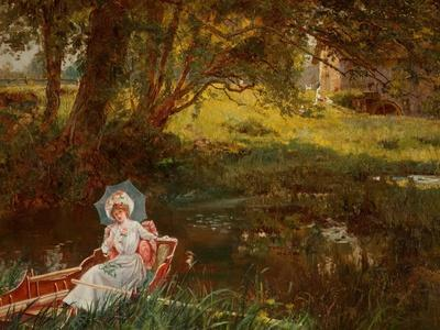 Lady in a Punt