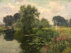 River Banks and River Blossoms, 1909 by Henry John Yeend King
