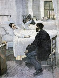 Visiting Day at the Hospital, 1893 by Henry Jules Jean Geoffroy