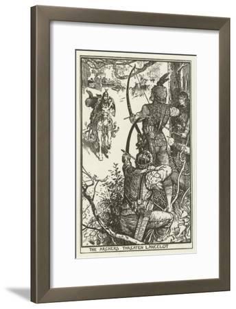 The Archers Threaten Lancelot