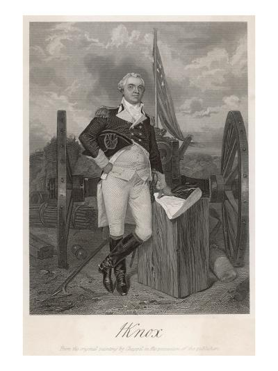 Henry Knox American Revolutionary Soldier and Statesman--Giclee Print