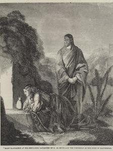 Mary Magdalene at the Sepulchre by Henry Le Jeune