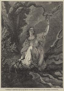 Ophelia by Henry Le Jeune