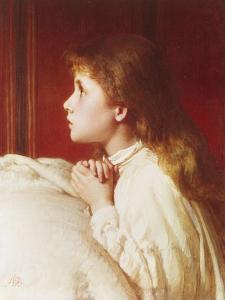 Prayer by Henry Le Jeune
