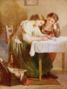 The Love Letter, 1871 by Henry Le Jeune