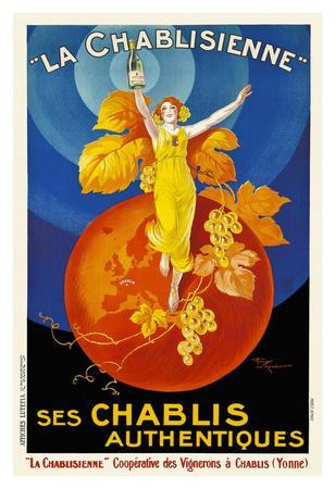 La Chablisienne Ses Chablis Authentiques, 1926