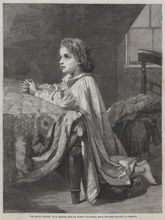 The Child's Prayer