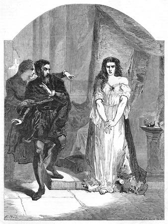 'Macbeth Act V. Scene I', c1870