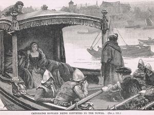 Catherine Howard Being Conveyed to the Tower 1542 by Henry Marriott Paget