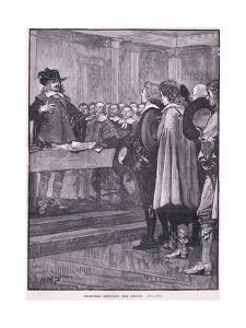 Cromwell Refusing the Crown Ad 1657 by Henry Marriott Paget