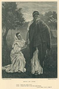 Illustration for Julius Caesar by Henry Marriott Paget