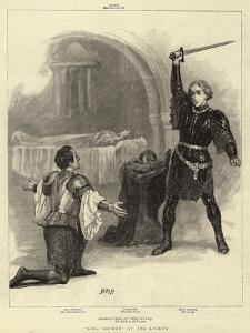 King Arthur at the Lyceum by Henry Marriott Paget