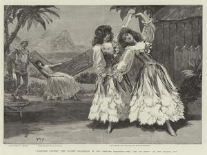 Robinson Crusoe, the Guards' Burlesque at the Chelsea Barracks, the Pas De Deux in the Second Act by Henry Marriott Paget