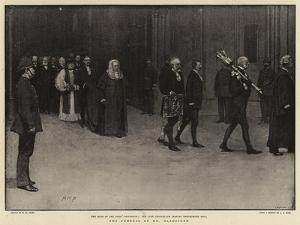 The Funeral of Mr Gladstone by Henry Marriott Paget