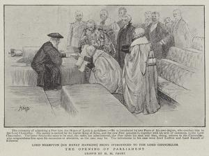 The Opening of Parliament by Henry Marriott Paget