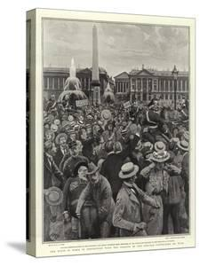 The Riots in Paris in Connection with the Closing of the Schools Controlled by Nuns by Henry Marriott Paget
