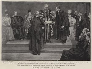 The Royal Visit to Wales by Henry Marriott Paget