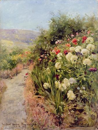 The Sand Garden, Ballaterson, Isle of Man, 1915