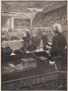 The Trial of Warren Hastings Ad 1788 by Henry Marriott Paget
