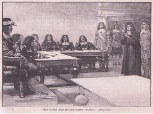 Titus before the Privy Council by Henry Marriott Paget