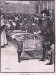Trial of Charles I Ad 1649 by Henry Marriott Paget