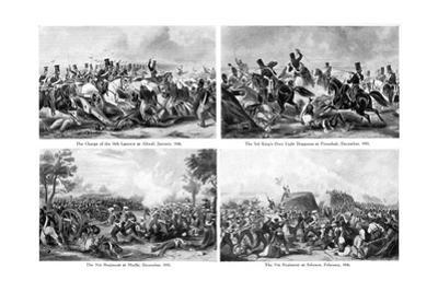 The First Sikh War, India, 1840s
