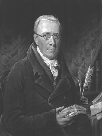 The Reverend John Evans M.A., 1812