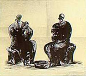 American Portrait by Henry Moore
