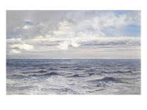 A Sunbeam over the Sea, 1890 (Oil on Panel)-Henry Moore-Framed Giclee Print