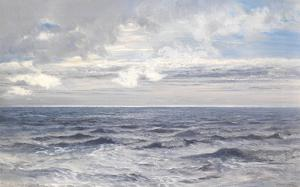 Silver Sea, 1869 by Henry Moore