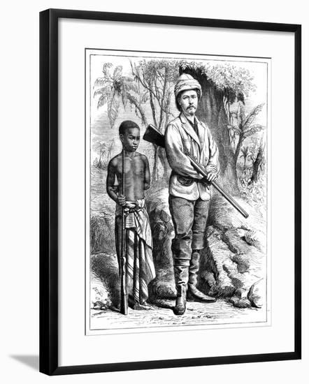 Henry Morton Stanley (1841-190), Welsh Journalist and Explorer, 19th Century--Framed Giclee Print