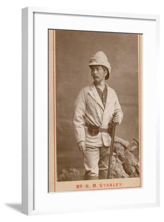 Henry Morton Stanley--Framed Photographic Print