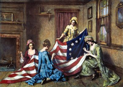 Birth of the Flag by Henry Mosler