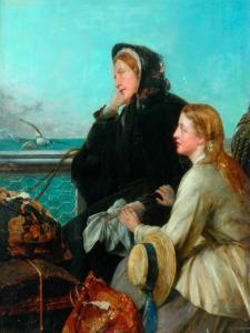 My Native Land, Goodbye, 1879 by Henry Nelson O'Neil