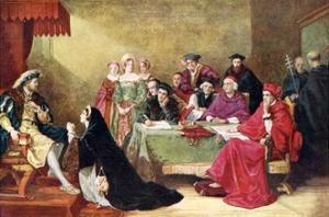 The Trial of Queen Catherine by Henry O'Neill