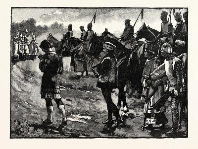 Henry on His Way to Becket's Tomb--Giclee Print